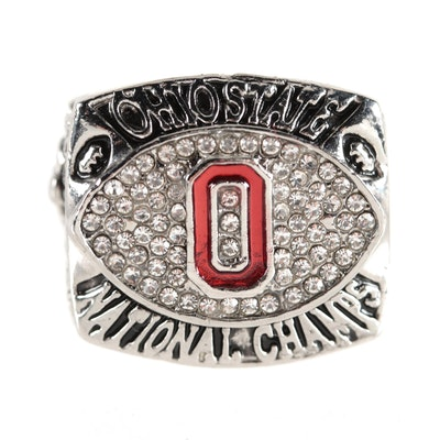 Replica 2002 Ohio State OSU Buckeyes National Champions Ring,