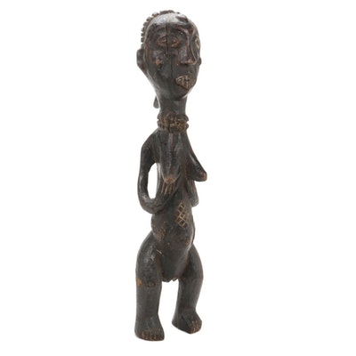Attie-Bété Style Handcrafted Wooden Figure, Côte d'Ivoire