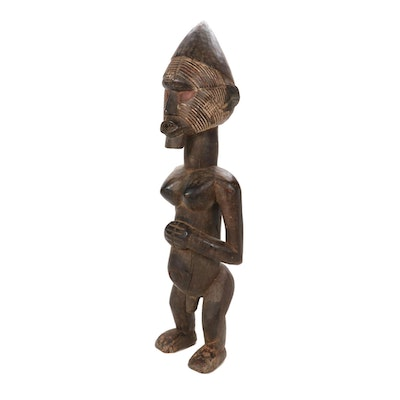 Teke Style Wood Figure, Democratic Republic of the Congo