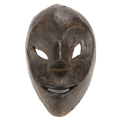 Central African Style Wooden Mask