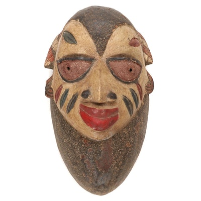 Yoruba Handcrafted Wooden Mask, Nigeria