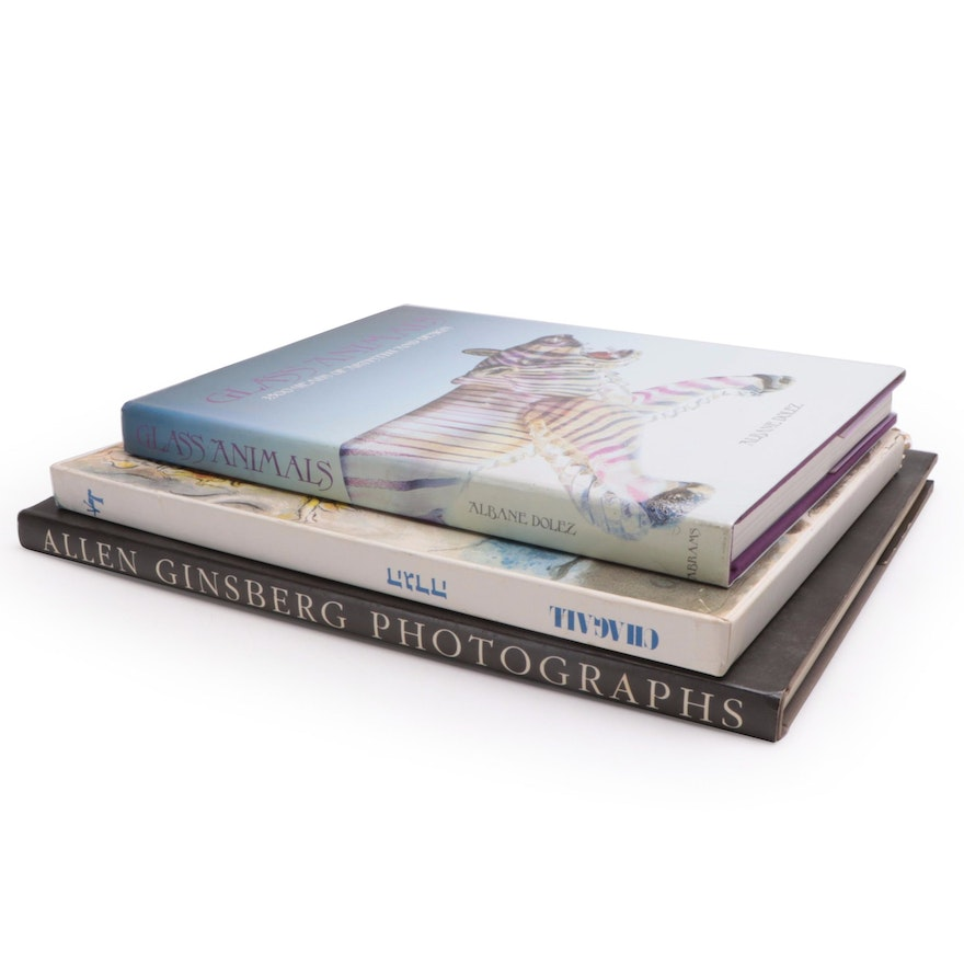 """""""Allen Ginsberg Photographs,"""" """"Glass Animals,"""" and """"Haggadah of Passover"""""""