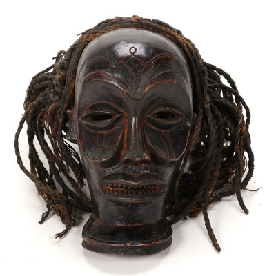 "Chokwe ""Chihongo"" Style Wood Mask, Central Africa"