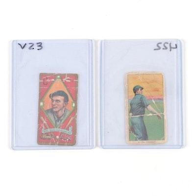 "Bob Ewing and Neal Ball ""Sweet Caporal"" Tobacco Baseball Cards, 1909-1911"