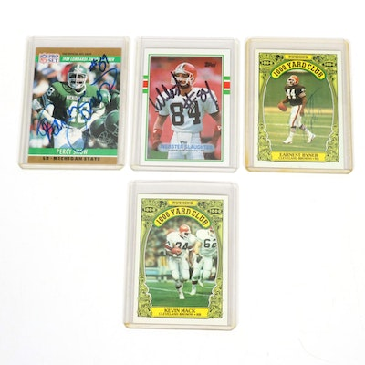"""Topps Football """"1000 Yard Club"""" Trading Cards Feat. Cleveland Browns Kevin Mack"""
