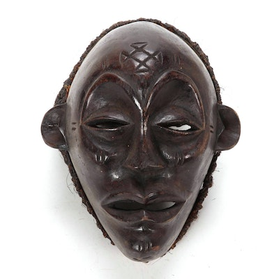 Chokwe Style Wood Mask, Central Africa
