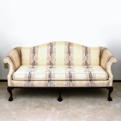 Hickory Chair Company Chippendale Style Sofa
