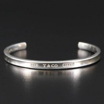 "Tiffany & Co. ""1837"" Sterling Silver Cuff"