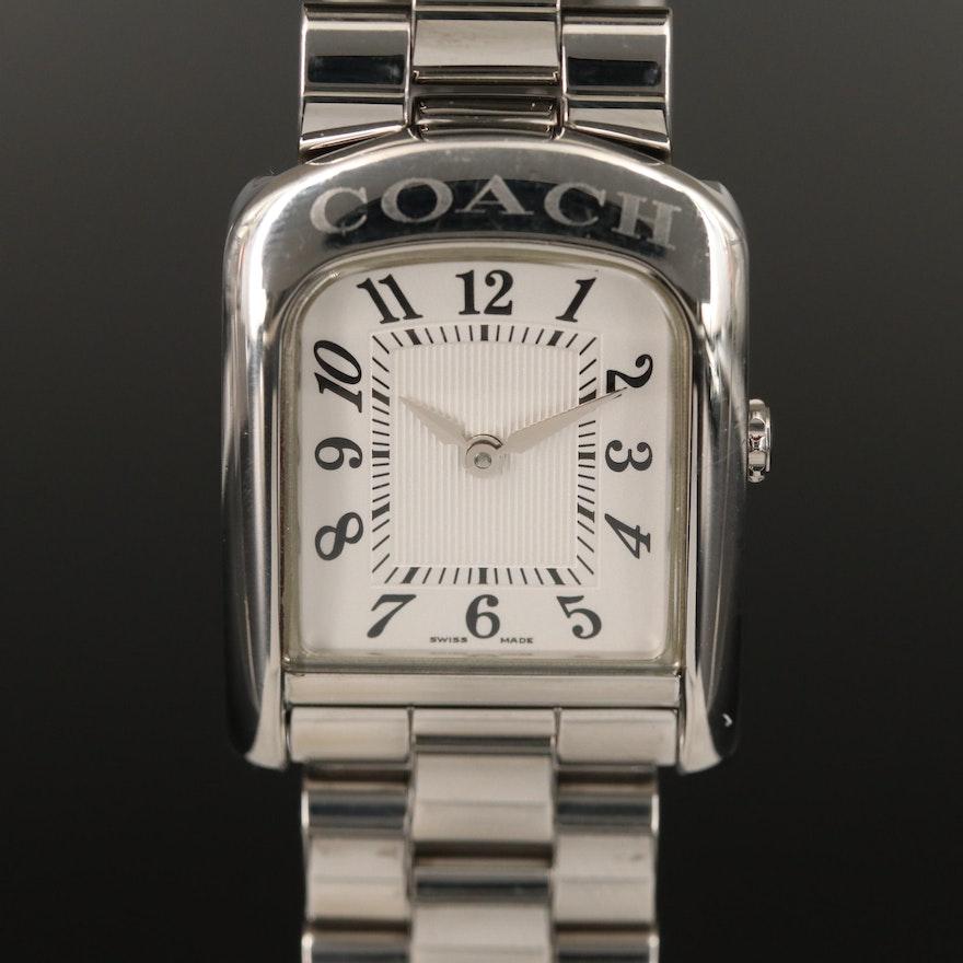 Coach W022A Stainless Steel Quartz Wristwatch