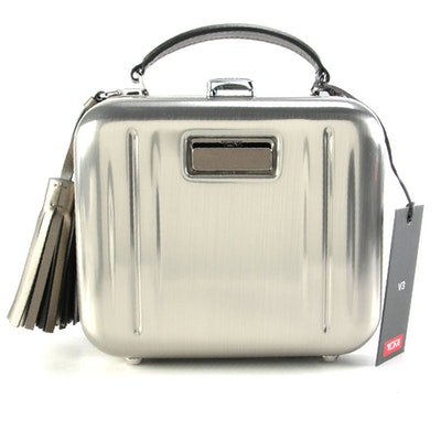 """Tumi V3 Collection """"Minaudiere"""" Two-Way Tassel Lock Case with Faux Leather Trim"""