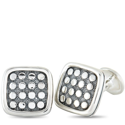 Scott Kay Sterling Silver Square Cufflinks