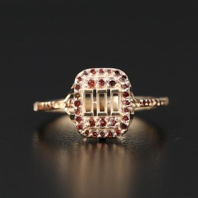 14K Semi Mount Diamond Ring