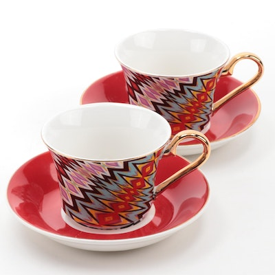 Gaga's Workshop for Barneys Limited Edition Porcelain Teacups and Saucers, 2011