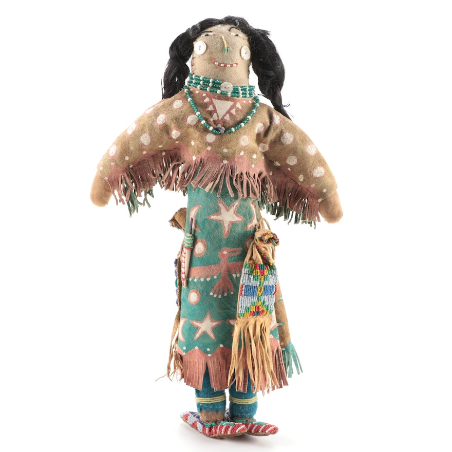 Plains Style Ghost Dance Type Doll