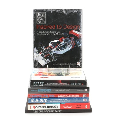 """""""Inspired to Design"""" and more Books on Racing and Luxury Cars"""