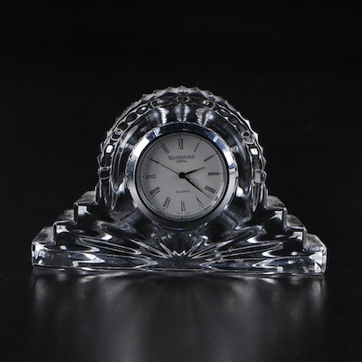 Waterford Crystal Giftware Small Desk Clock