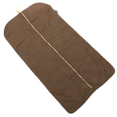 Louis Vuitton Pegas Garment Bag Insert in Brown Nylon with Travel Hanger