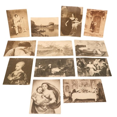 """Halftone Lithographs from """"The Inter Ocean,"""" 1865-1914"""