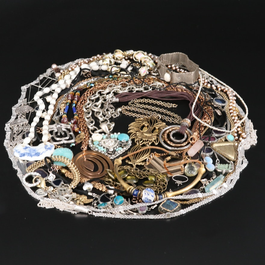 Jewelry Featuring Sterling Silver and Milor Italy