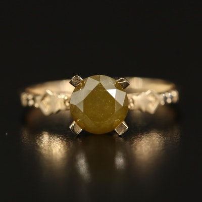 14K 1.51 CTW Diamond Ring