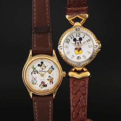 Disney Mickey Mouse & Friends Quartz Wristwatches