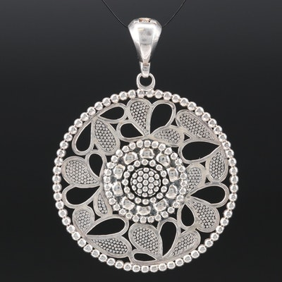 Lagos Sterling Silver Enhancer Pendant