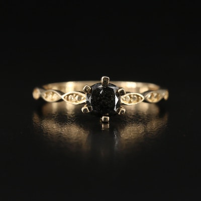 14K 0.50 CT Diamond Ring