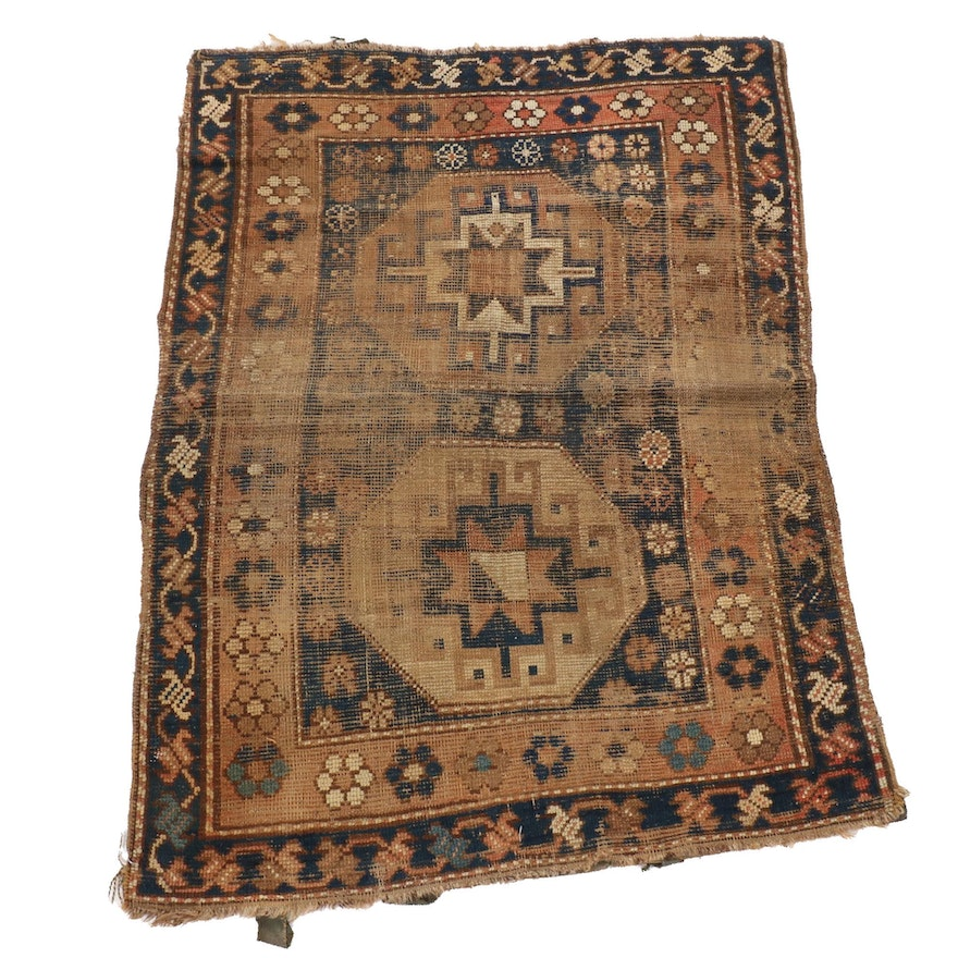 3'3 x 4'5 Hand-Knotted Caucasian Karabagh Rug
