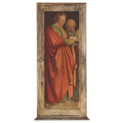 "Giclée after Albrecht Dürer ""The Four Apostles"" St. John and St. Peter Panel"