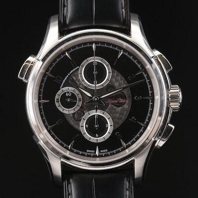 Hamilton Jazzmaster Rattrapante Chronograph Stainless Steel  Wristwatch