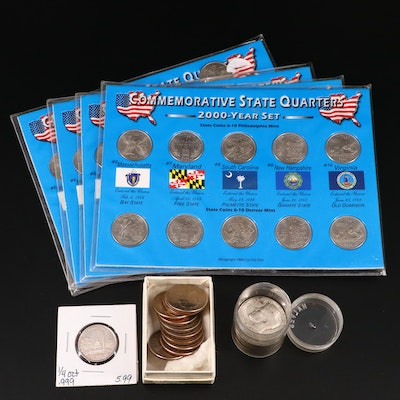 Assortment of Modern U.S. Coins and Sets