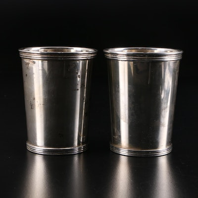 Pair of International Silver Sterling Julep Cups