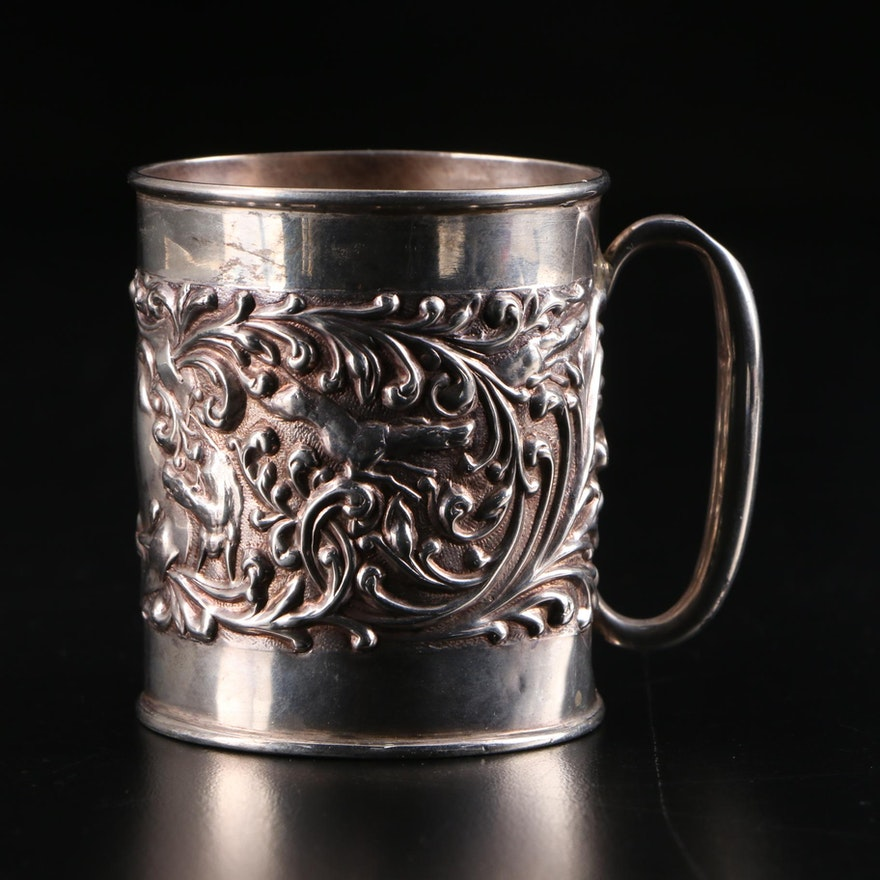 Robert Pringle & Sons Sterling Silver Baby Cup, 1906