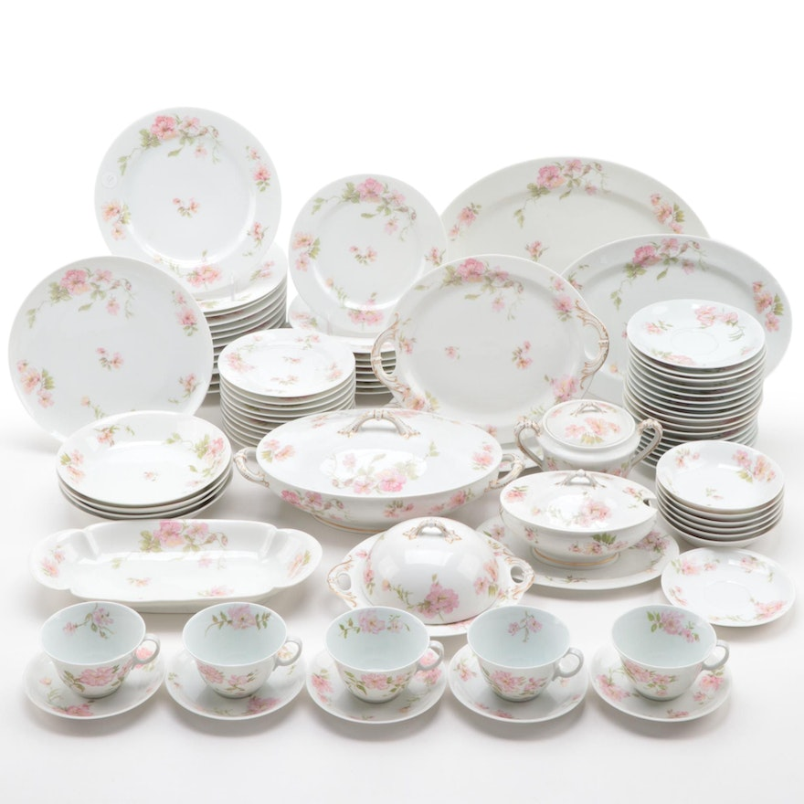 Haviland & Co. and Other Limoges Porcelain Tableware, Early to Mid 20th Century