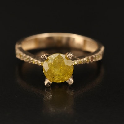 14K 1.45 CTW Diamond Ring