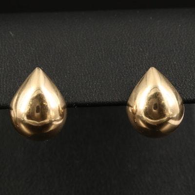 Michael Sugarman 14K Half Hoop Earrings