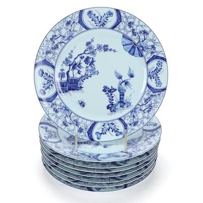 "Robert Haviland & C. Parlon ""Claude Monet Giverny"" Limoges Plates"