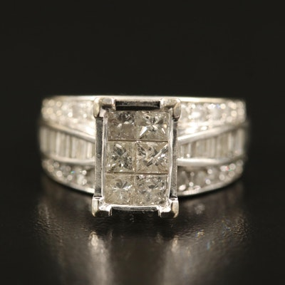 14K 2.11 CTW Diamond Ring