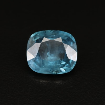 Loose 5.09 CT Unheated Burmese Sapphire with AGL Report