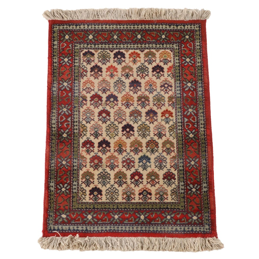 2'0 x 3'3 Machine Made Asbabad Accent Rug