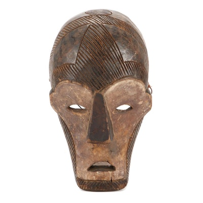 Central African Style Wood Mask
