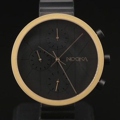 Nooka Nookrono Chronograph Stainless Steel Quartz Wristwatch