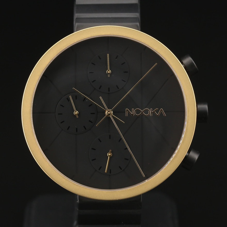 Nooka Nookrono Chronograph Stainless Steel Quartz Wristwatch