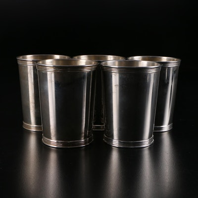 Manchester Silver Co. Sterling Silver Julep Cups, Mid-20th Century