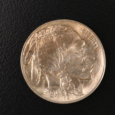 1914 Uncirculated Buffalo Nickel