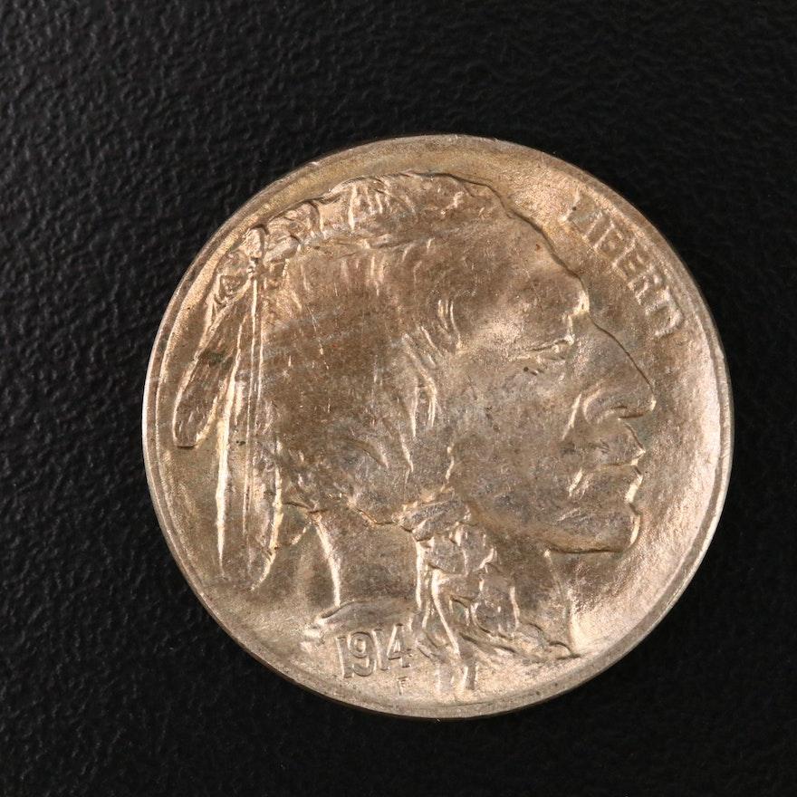 1914 Uncirculated Buffalo Nickel