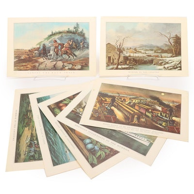 Offset Lithographs after Currier and Ives, 1964