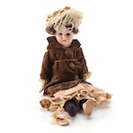 Armand Marseille 370 German Bisque Head Doll with Composition Hands