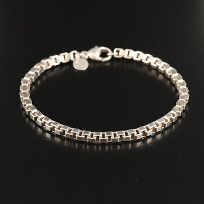 "Tiffany & Co. ""Venetian"" Sterling Silver Bracelet"