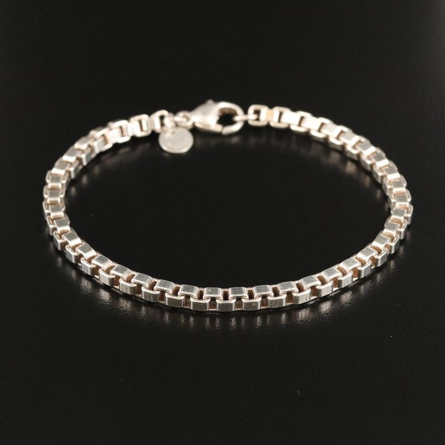 """Tiffany & Co. """"Venetian"""" Sterling Silver Bracelet"""